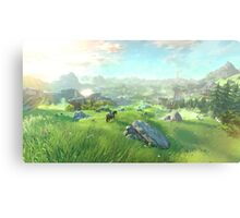 The Legend of Zelda for Wii U Metal Print