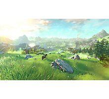 The Legend of Zelda for Wii U Photographic Print