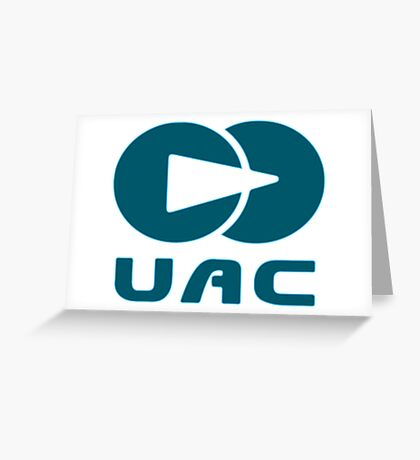 Doom Union aerospace corporation Greeting Card