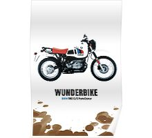 bmw R80 g/s paris-dakar edition Poster