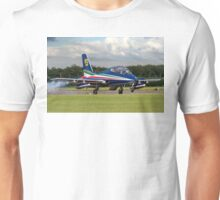 Frecce Numero Dieci landing at Waddington Unisex T-Shirt