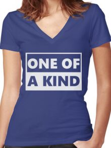 One Of A Kind Women's Fitted V-Neck T-Shirt