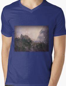 Hohenwerfen Burg, Austria Mens V-Neck T-Shirt