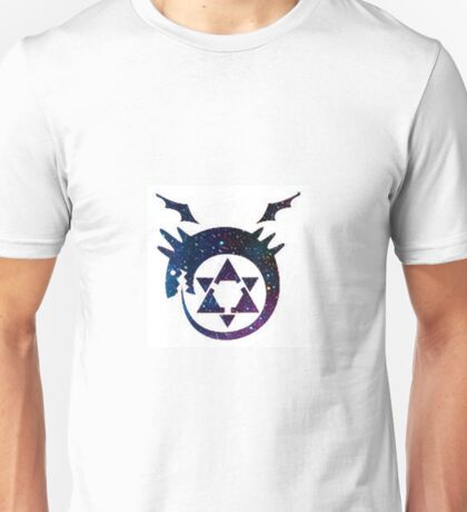 Fullmetal Alchemist Ouroboros Tattoo Galaxy Unisex T-Shirt