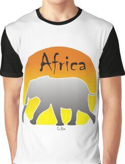 Africa - Elephant Graphic T-Shirt