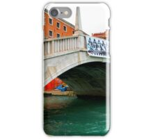 Beautiful venice monument in old style. iPhone Case/Skin