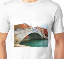 Beautiful venice monument in old style. Unisex T-Shirt