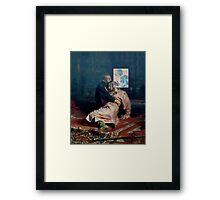 IVAN TEE Framed Print
