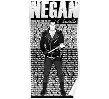 The Walking Dead - Negan & Lucille 3 Poster