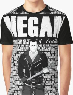 The Walking Dead - Negan & Lucille 3 Graphic T-Shirt