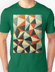 Modern Abstract Triangle Pattern Unisex T-Shirt