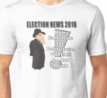 ELECTION NEWS 2016 Unisex T-Shirt