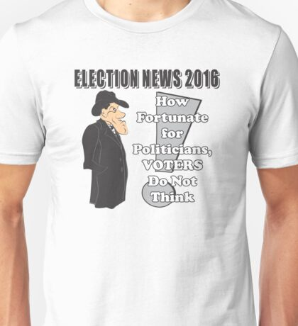ELECTION NEWS 2016 Unisex T-Shirt