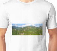 Great Wall of China Panorama Unisex T-Shirt