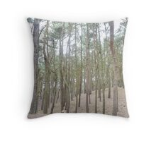 Trees - In The Woods Throw Pillow