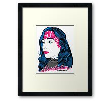 Amba - Illustration Exhibition 2015 Framed Print