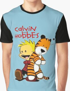 Calvin and Hobbes doll Graphic T-Shirt