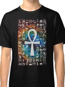 Egyptian Cross Galaxy Classic T-Shirt