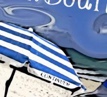 Beach Bound! Sticker