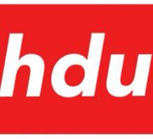 Suh dude (red) Sticker