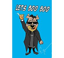 Lets Boo Boo 2 Photographic Print