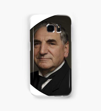 """Mr Carson e Mrs Hughes"" Downton Abbey Samsung Galaxy Case/Skin"