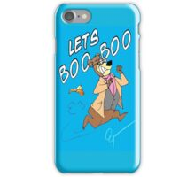 Lets Boo Boo iPhone Case/Skin