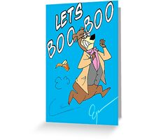 Lets Boo Boo Greeting Card