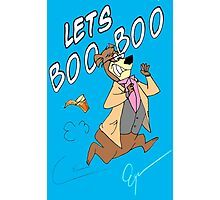 Lets Boo Boo Photographic Print
