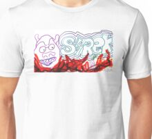 Horrible Shrek Graffiti  Unisex T-Shirt