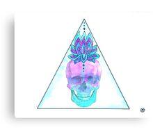 Sahasrara skull Canvas Print