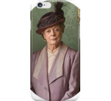 Lady Violet Downton Abbey iPhone Case/Skin