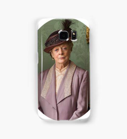 Lady Violet Downton Abbey Samsung Galaxy Case/Skin