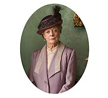Lady Violet Downton Abbey Photographic Print