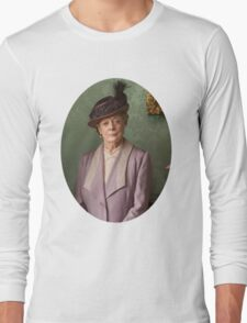 Lady Violet Downton Abbey Long Sleeve T-Shirt
