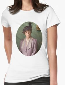 Lady Violet Downton Abbey Womens Fitted T-Shirt
