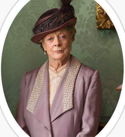 Lady Violet Downton Abbey Sticker