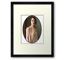 Lady Mary Crawley Framed Print