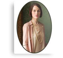 Lady Mary Crawley Metal Print