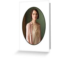 Lady Mary Crawley Greeting Card