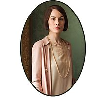 Lady Mary Crawley Photographic Print