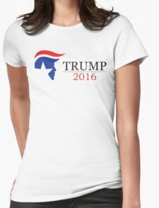 USA 2016 | Donald Trump | Trump for President 2016 | White Background | High Quality Womens Fitted T-Shirt