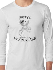Buffy's  Adventures in Wonderland Long Sleeve T-Shirt