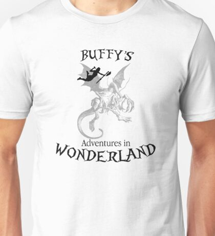 Buffy's  Adventures in Wonderland Unisex T-Shirt