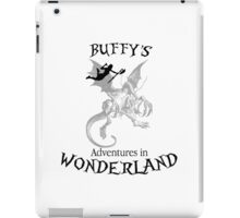 Buffy's  Adventures in Wonderland iPad Case/Skin