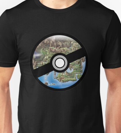 Kanto Pokeball Unisex T-Shirt