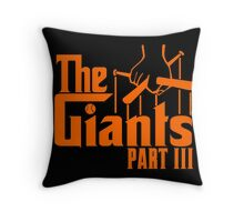 The GIANTS Throw Pillow