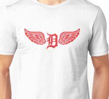 Detroit D Wing Unisex T-Shirt