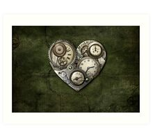 Heartstone Steampunk Art Print