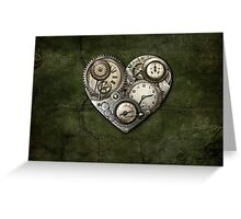 Heartstone Steampunk Greeting Card